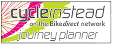 Cycle instead on the Bike direct network - journey planner